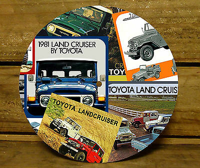 190MM x 5MM MDF CLOCK FACE - TOYOTA LAND CRUISER