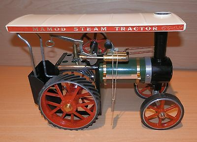 1980s MAMOD TE1a LIVE STEAM TRACTION ENGINE, MINT, UNFIRED + EXTRAS & BOX