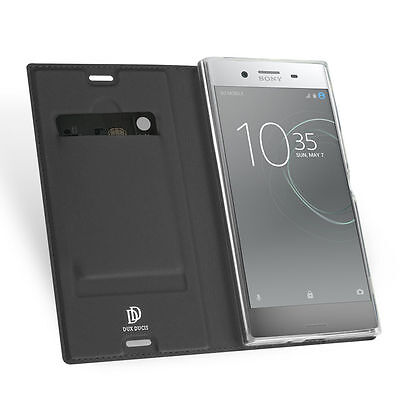 For Sony Xperia XZ Premium Dux Ducis Luxury Slim Flip Leather Case Cover