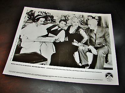 1933 SHE DONE HIM WRONG Movie Press Photo Cary Grant Mae West William LeBaron