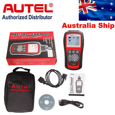 Australia Ship Autel AutoLink AL619 OBD2 CAN SRS ABS Auto Code Reader Diagnostic