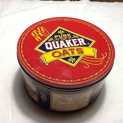 Quacker Oatmeal Vintage Tin