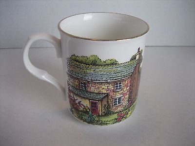 Crown Trent Fine Bone China Staffordshire England House Coffee Mug/Cup Pre-Owned