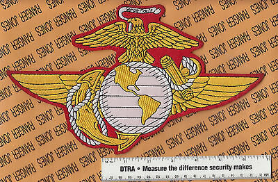 """USMC Marine Corps Aviation Aircrew personnel 10.75"""" jacket patch"""