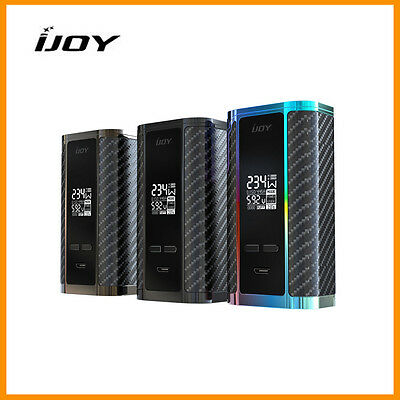 NEW IJOY Captain PD270 Box Mod Rainbow *batteries included*