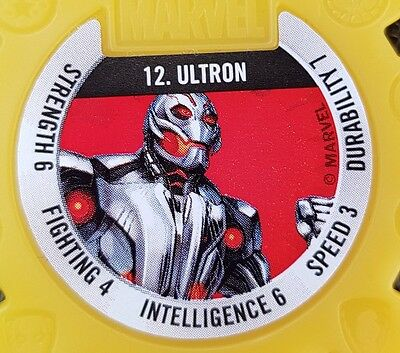 Ultron 12 Marvel Super Hero Collector Disc #12 woolworths disk Rare