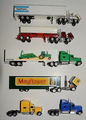 4 Tractor trailer units and 2 tractors in excellent condition, various makes HO