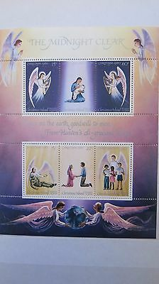 Christmas Island 6 Stamps Release 1980 Christmas  The Midnight Clear MNH Sheet