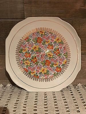 Lord Nelson Ware Country Lane Vintage Chintz Serving Plate