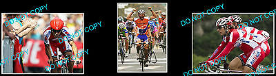 Oscar Friere Tour De France Pro Cycling Champion Signed Photo +2 Photos