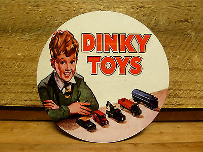 Round Drink Coasters,  Set Of 4 - Dinky Toys