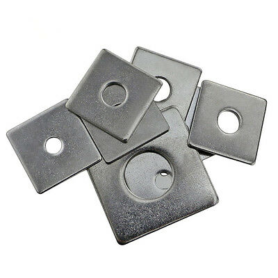 304 Stainless Steel SS Square Washers M3 M4 M5 M6 M8 M10 M12 M14 M16