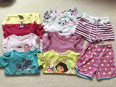 Girls Summer Bundle  Size 2  Good Used Condition
