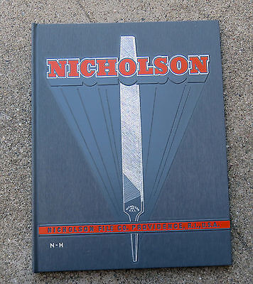 Original 1957 Nicholson File Company Catalog Tools