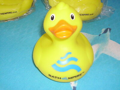 Yellow Duck Hook Duck 8 Bathtime Rubber   Bath Toy Water Play Kids 10cm long