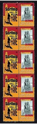 Stephanie Gilmore 07 Surf Wc Hall Of Fame Mint Stamps 2