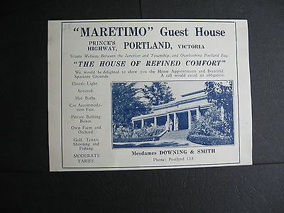 Downing & Smith  Maretimo Guest House   Portland
