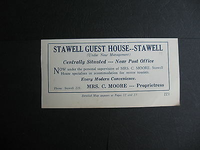 C Moore   Stawell Guest House