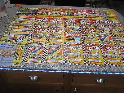 Approx. 100 Programs Brisca F1 Stock Cars Various Tracks 1972-94