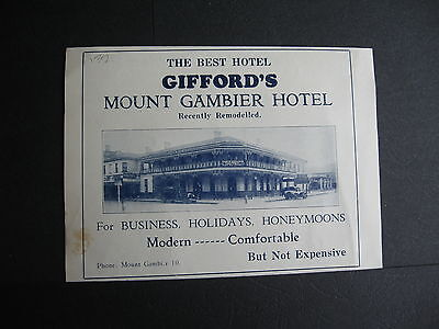 Gifford's Mount Gambier Hotel