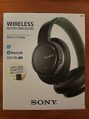 Sony Wireless Bluetooth NFC Noise Cancelling Headphones MDR-ZX770BN