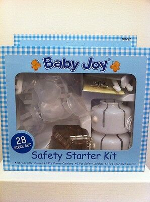 28 Pieces Of Safety Starter Kit - Keep Your Baby Safe