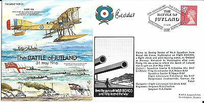 """80th Anniversary Cover """"The Battle of Jutland"""" Signed"""