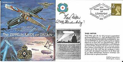 """80th Anniversary Cover """"The Zeppelin Raids on Britain"""""""