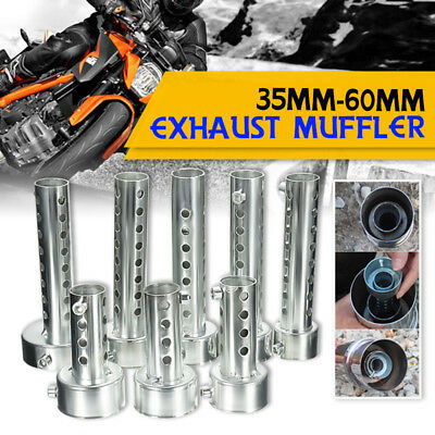 Universal Motorcycle Exhaust Can Removable Silencer Muffler Baffle 35/45/48/60mm