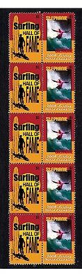 Stephanie Gilmore 08 Surf Wc Hall Of Fame Mint Stamps 1