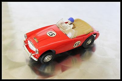 SCALEXTRIC Tri-ang Vintage AUSTIN HEALEY 3000 RED C74 1964-1968 Spares / Repairs