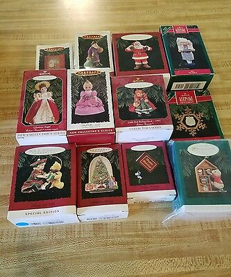 Hallmark Christmas Ornaments Lot of 12