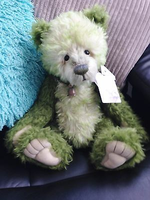 Charlie Bears Mohair *bees Knees* Gorgeous Limited + Bag Fab Condition Stunning!