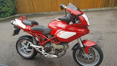 Ducati multistrada 2004 1000DS Low mileage Red