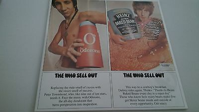 """The Who - The Who Sellout - 12"""" Vinyl Lp & Psychadelic Poster Sealed!"""