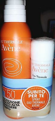 Avene Spray SPF 50+ (200 ml)  (Omaggio Spray Acqua Termale)
