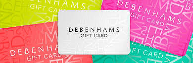 Debenhams Gift Card £353 Gift Voucher