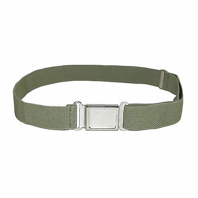 Kids' Elastic Stretch Belt with Magnetic Buckle