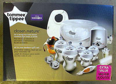 New Tommee Tippee Closer to Nature All in One Newborn Gift Set