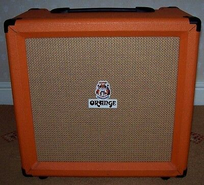 Orange AD 15 Electric Guitar Combo Amp Amplifier Made In U.K.