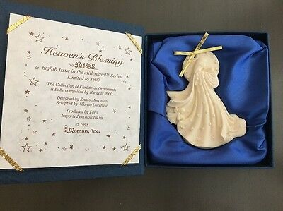 Roman Millenium Ornament Heaven's Blessing Eight in Series Limited Ed 1888/9000