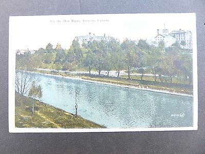 Vintage Postcard, Don River, Toronto, 1900's - Unposted