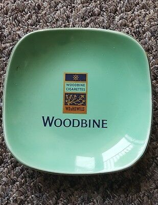 Woodbine cigarette small plate