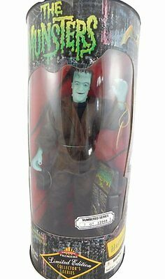 Fred Gwynne - Herman Munster Doll Figure - The Munsters - Exclusive Limited