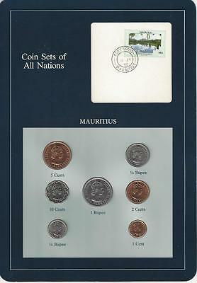 Coin Sets of All Nations, Mauritius