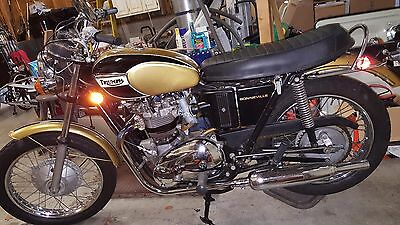 1971 Triumph Bonneville  1971 Triumph Bonneville, Fully Restored, 650cc, T120, competitive show bike