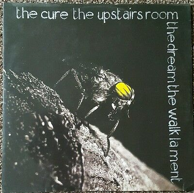 "THE CURE - Upstairs Room 12"" VINYL UK 1983 - 4 Track EP"
