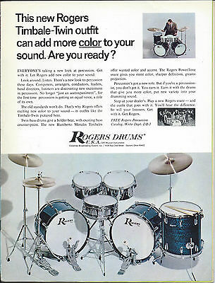 Vintage 1968 Rogers Outfit Page ad
