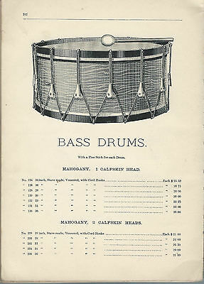 Drums Percussion Catalog Compulation 1900-1930 ebook CD Free Shipping WORLDWIDE
