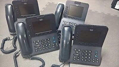 Cisco CP-8941-K9 VOIP 8941 IP video phone w/ STAND. NO POWER ADAPTER